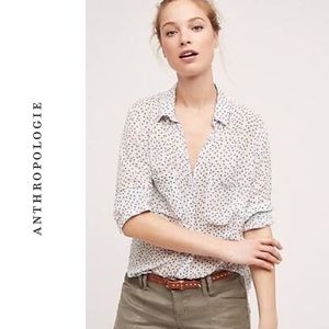 Anthro Cloth & Stone Tavira Button down Blouse